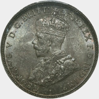 1911  Florin obverse