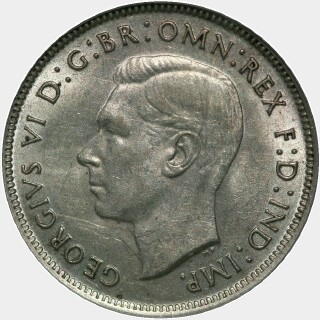 1939  Florin obverse