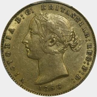 1866  Half Sovereign obverse