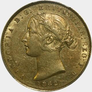 1862  Half Sovereign obverse
