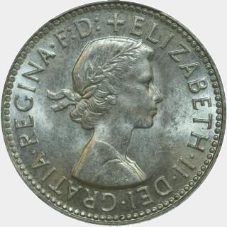 1955  Shilling obverse