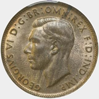 1948  Half Penny obverse