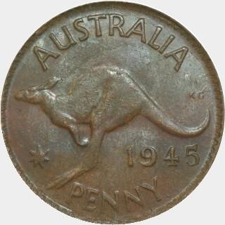 1945-Y  Penny reverse