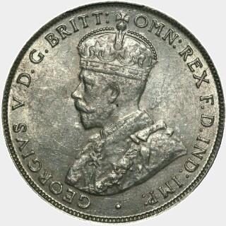 1915-H  Florin obverse