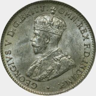 1919-M  Threepence obverse