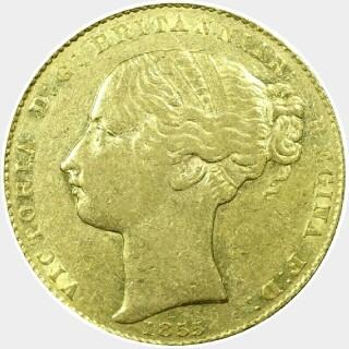 1855  Full Sovereign obverse