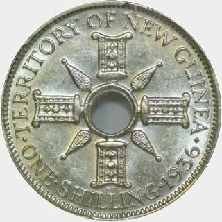 1936  Shilling reverse