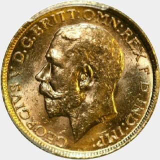 1913-S  Full Sovereign obverse