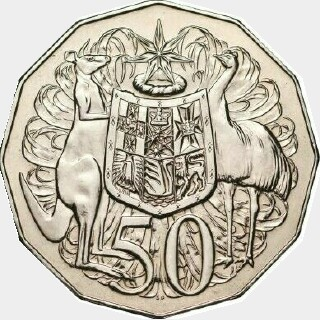 1988  Fifty Cent reverse