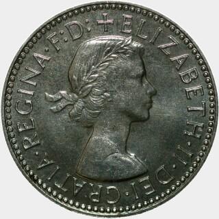 1956 Proof Shilling obverse