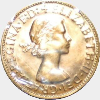 1964-Y Proof Penny obverse