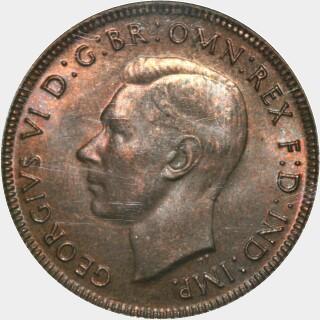 1944  Half Penny obverse