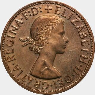 1957-Y Mirror Proof Penny obverse
