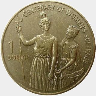 2003  One Dollar reverse