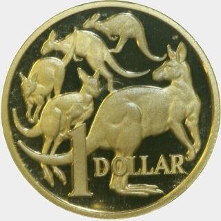 2007 Proof One Dollar reverse