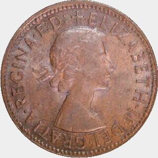 1964-Y Proof Half Penny obverse