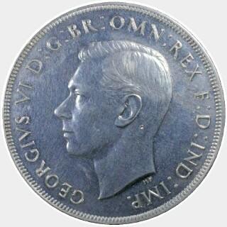 1937 Proof Crown obverse