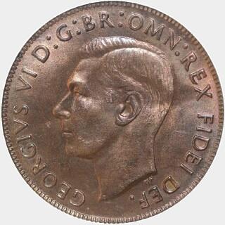 1950  Penny obverse
