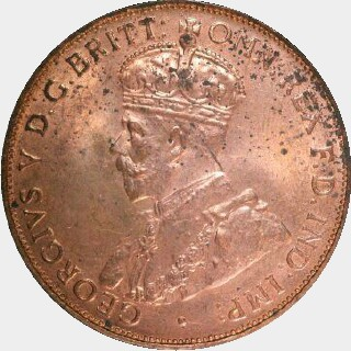 1928 Proof Penny obverse
