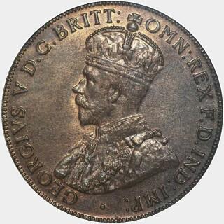 1918-I  Penny obverse