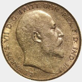 1903-S  Half Sovereign obverse