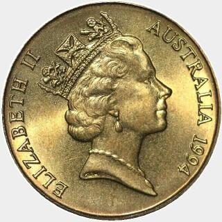 1994-S  One Dollar obverse