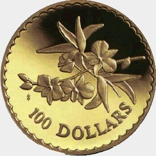 2000  One Hundred Dollar reverse