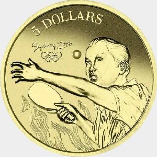 2000  Five Dollar reverse
