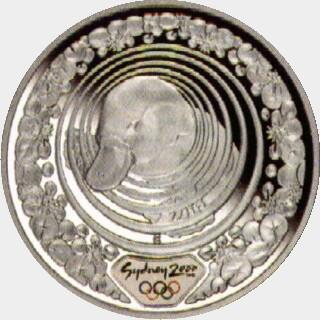 2000-C Proof Five Dollar reverse