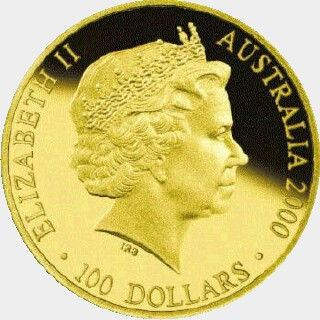 2000-P Proof One Hundred Dollar obverse