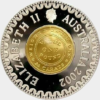 2002 Proof Ten Dollar obverse