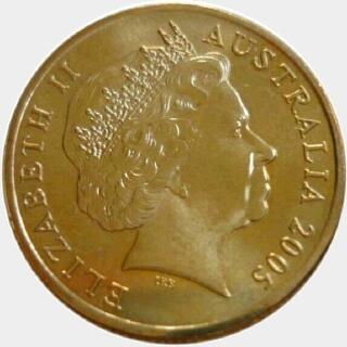 2005  One Dollar obverse