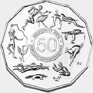 2005 Silver Proof Fifty Cent reverse