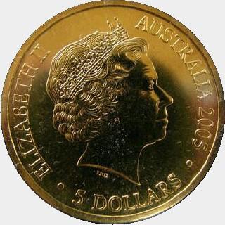 2005  Five Dollar obverse