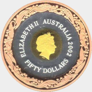 2006 Proof Fifty Dollar obverse