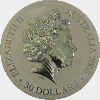 2006 Proof Thirty Dollar obverse